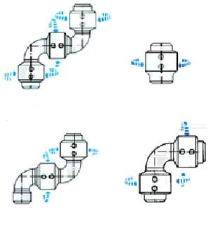 V Ring Type Swivel Joint