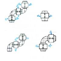 V-Ring Type Swivel Joint